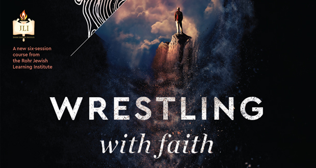 Image result for wrestling with faith jli